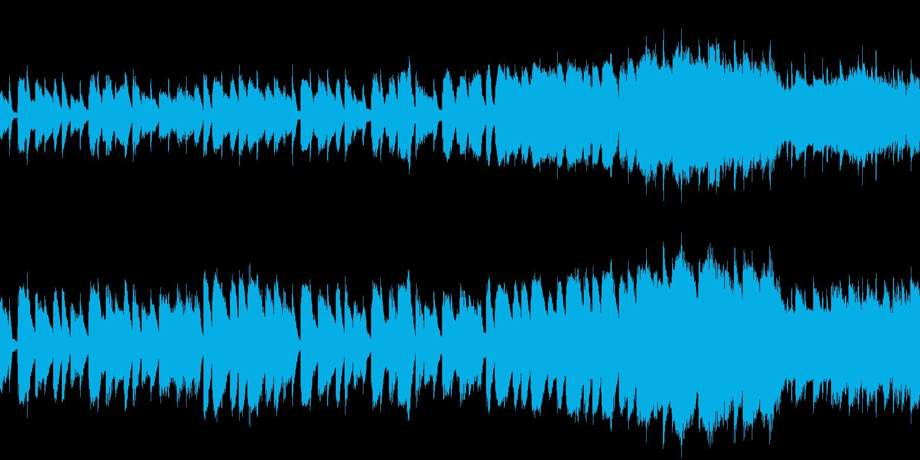 森/街 可愛いアンサンブル:ループ  の再生済みの波形