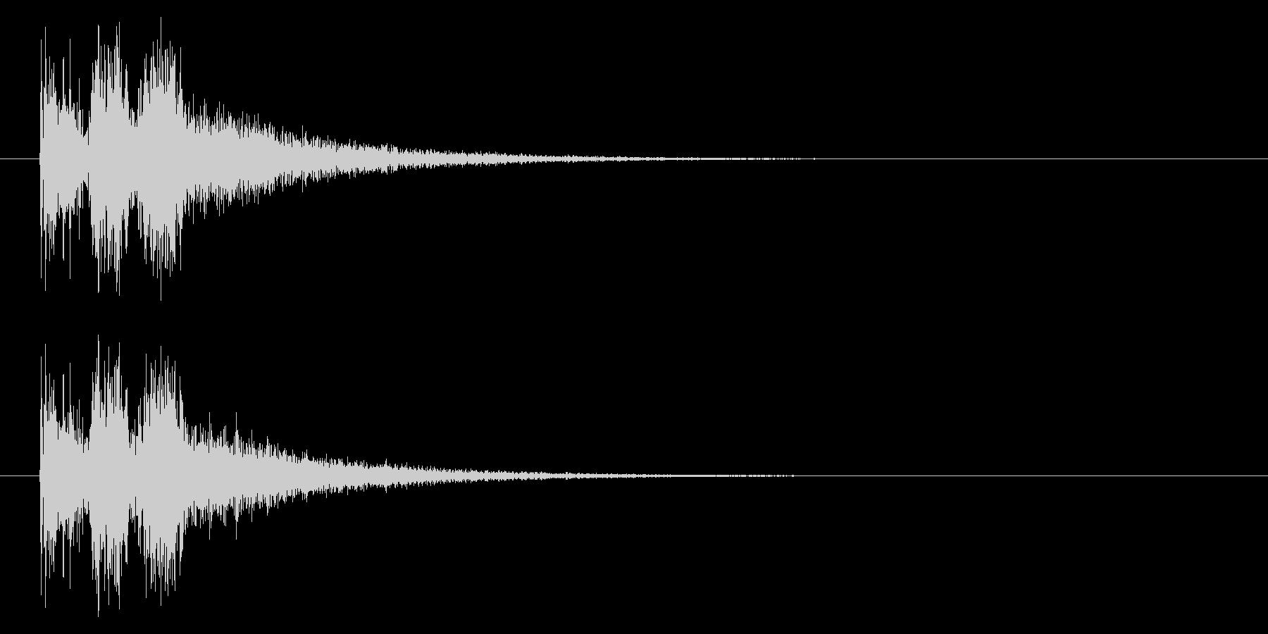 斬る04-3の未再生の波形