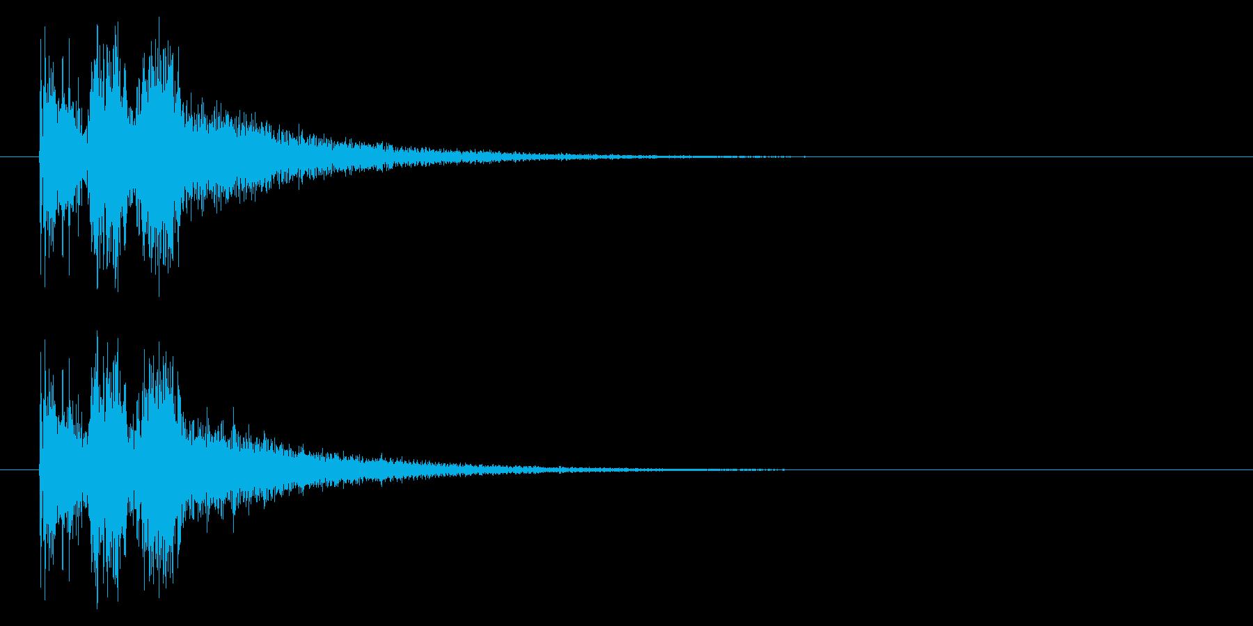 斬る04-3の再生済みの波形