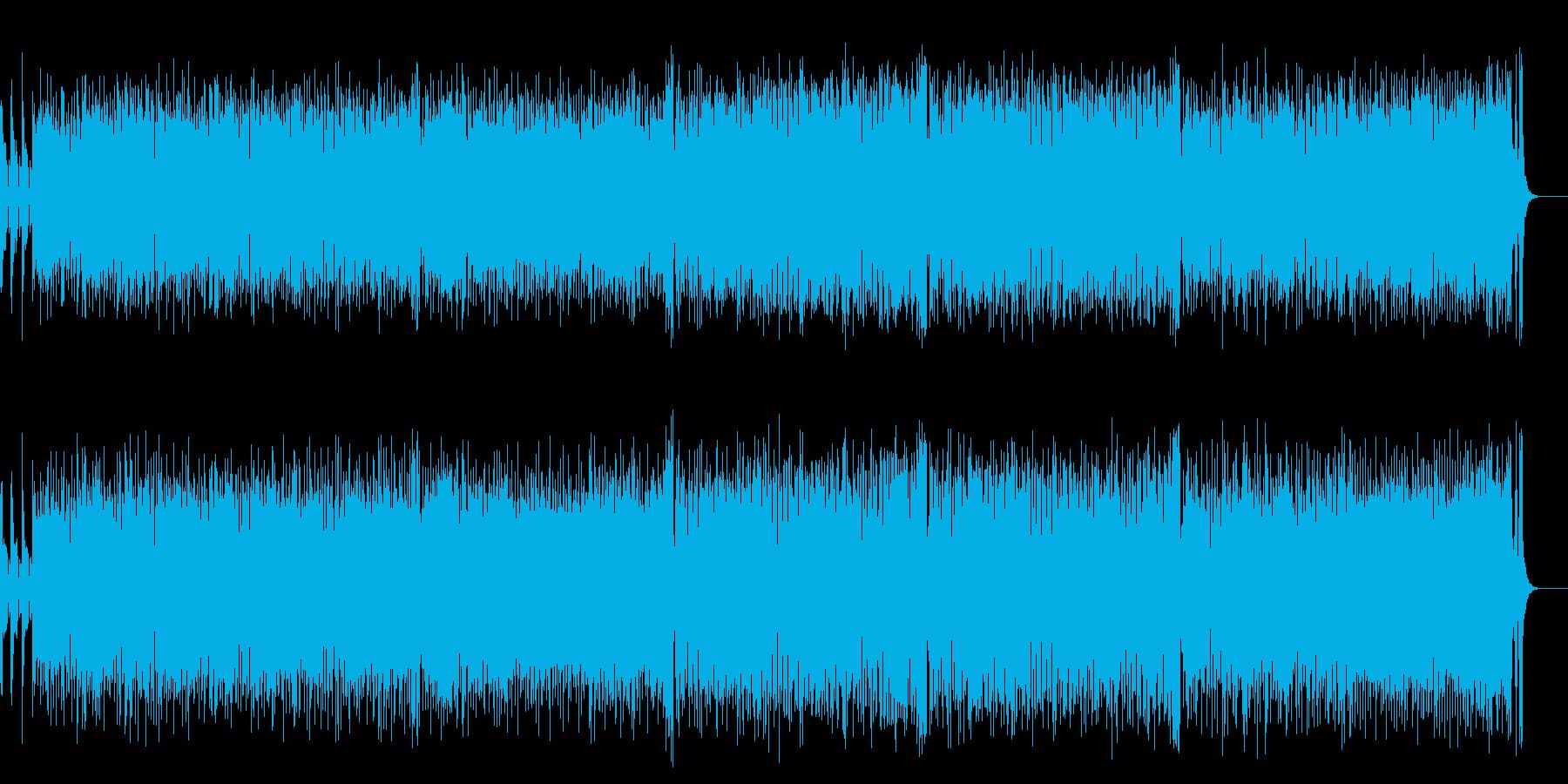 陽気でにぎやかなアップ・テンポ・ポップスの再生済みの波形