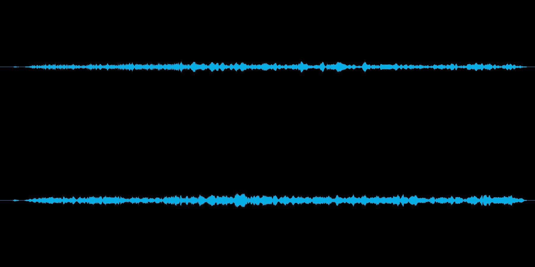 ヒュー!本当にリアルな花火打ち上げの音2の再生済みの波形
