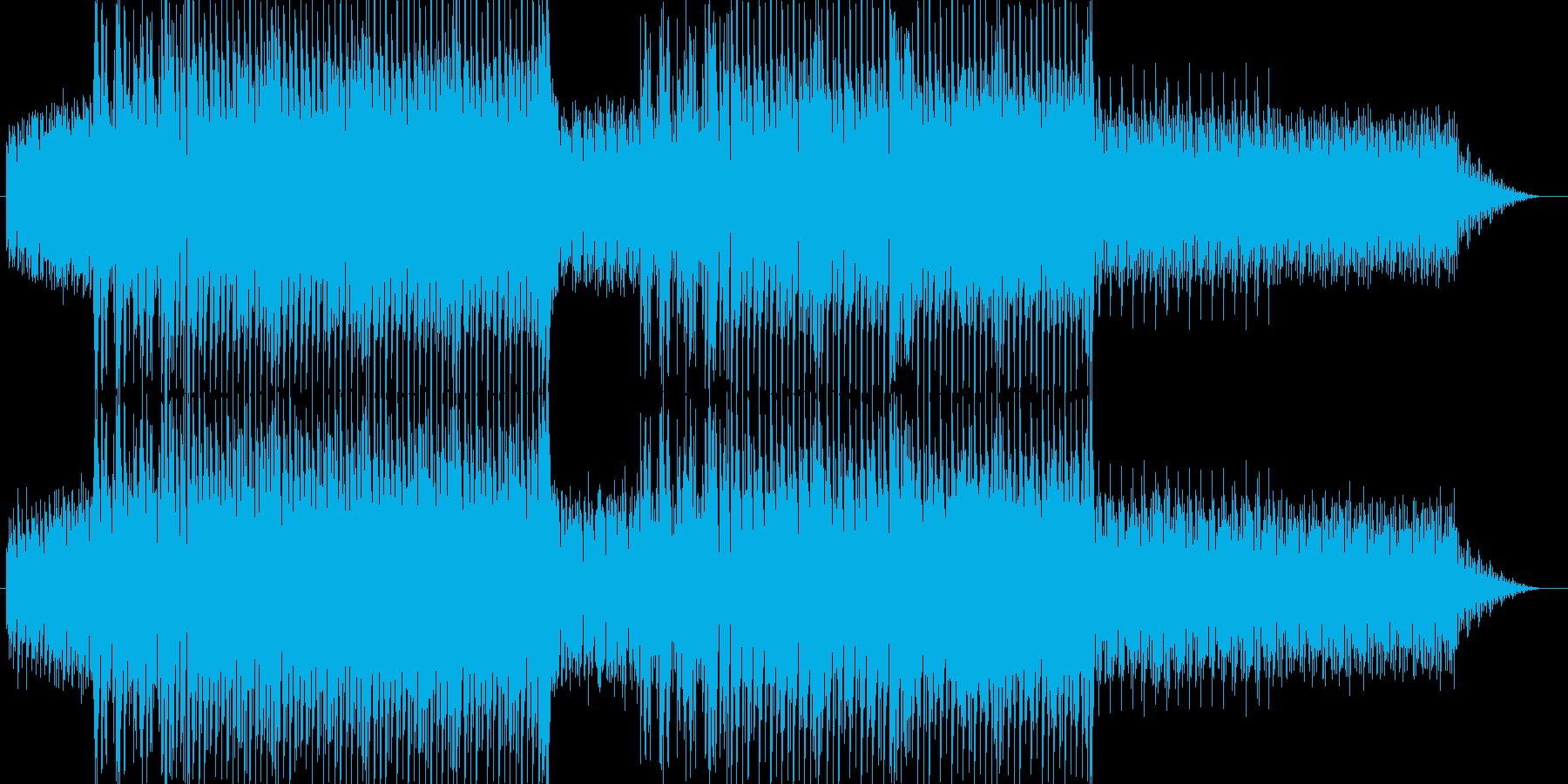 明るく活発なイメージで作ったハウス(メ…の再生済みの波形