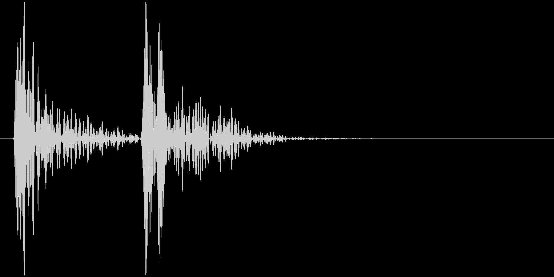 ドクンドクン(心臓の鼓動)の未再生の波形