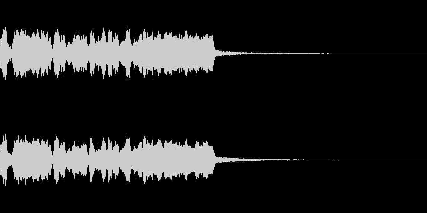 クエスト達成の未再生の波形