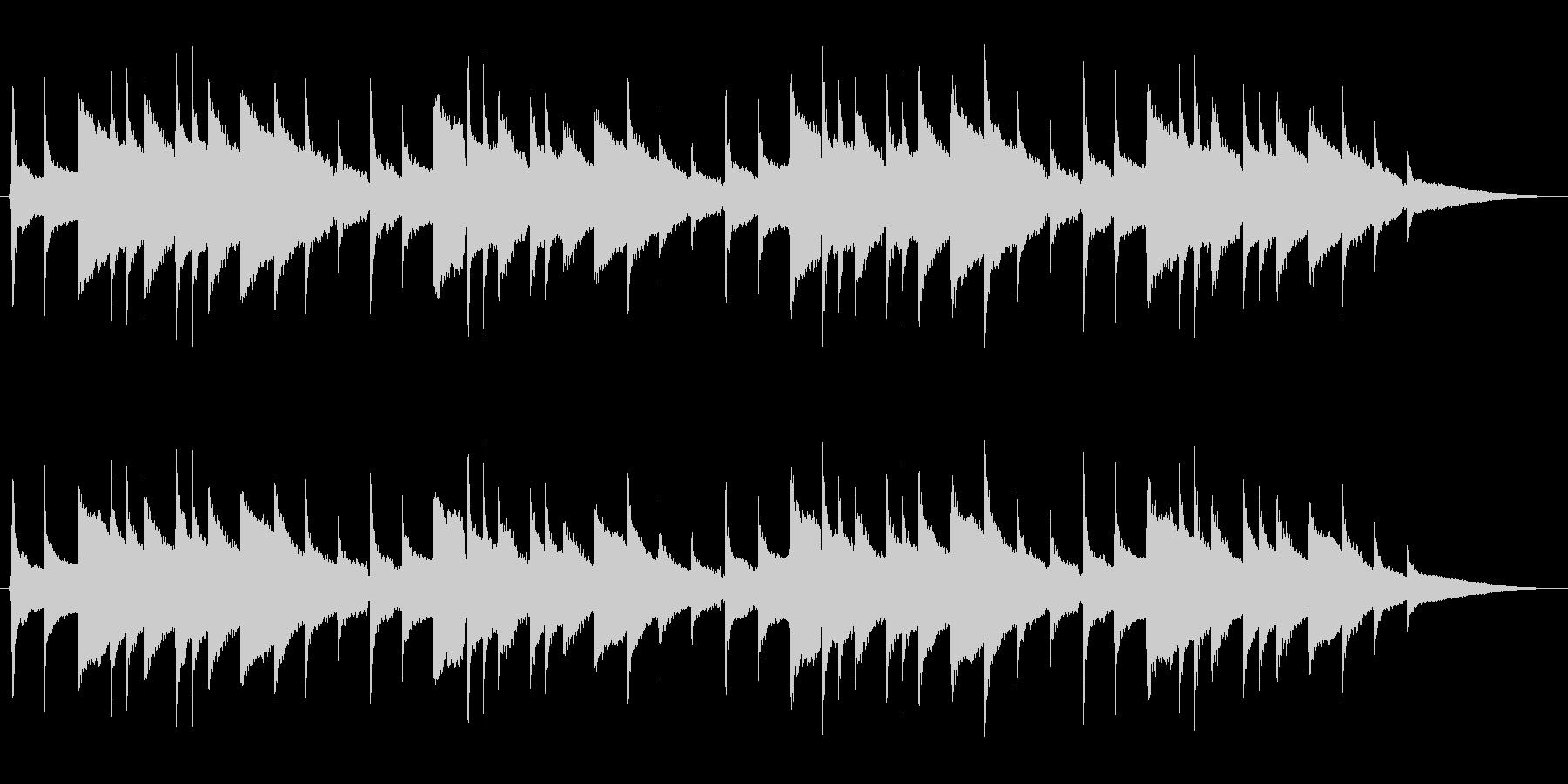 展覧会の絵 アコギハーモニー独奏の未再生の波形