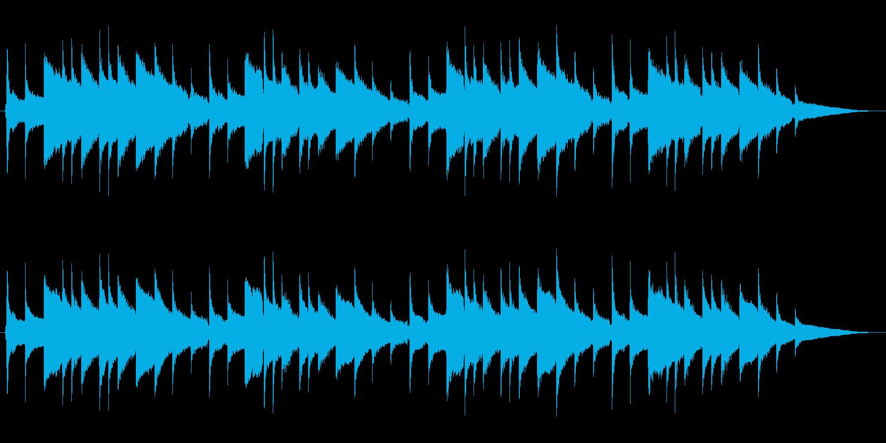 展覧会の絵 アコギハーモニー独奏の再生済みの波形