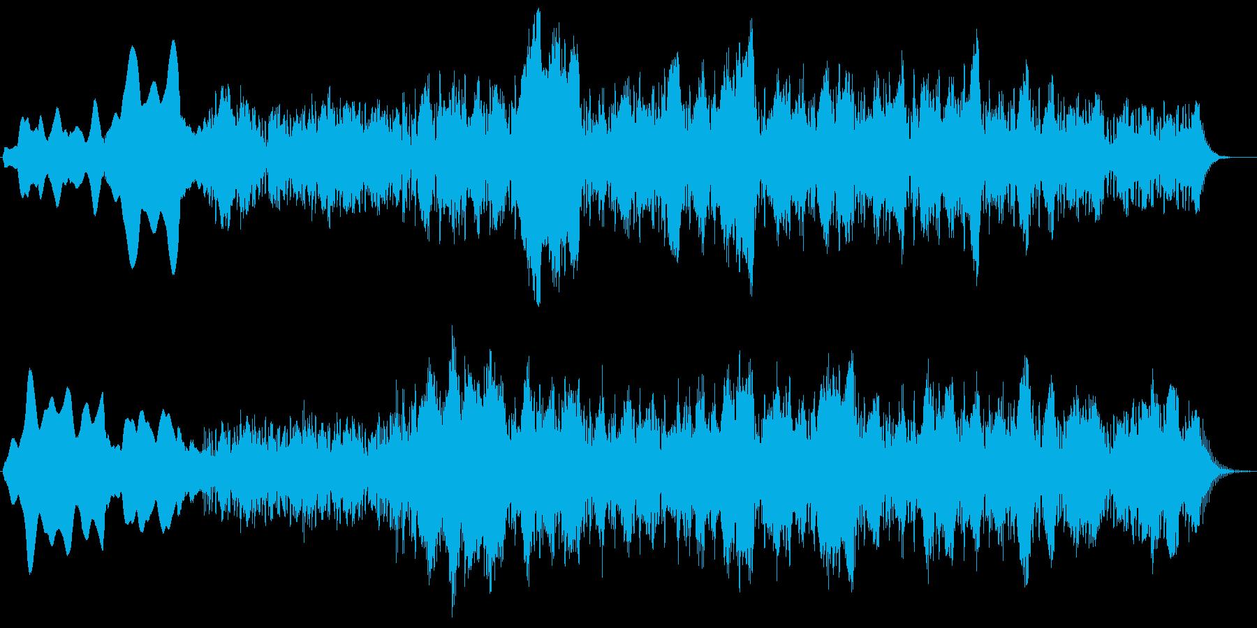 アンビエント,機械的なノイズの再生済みの波形