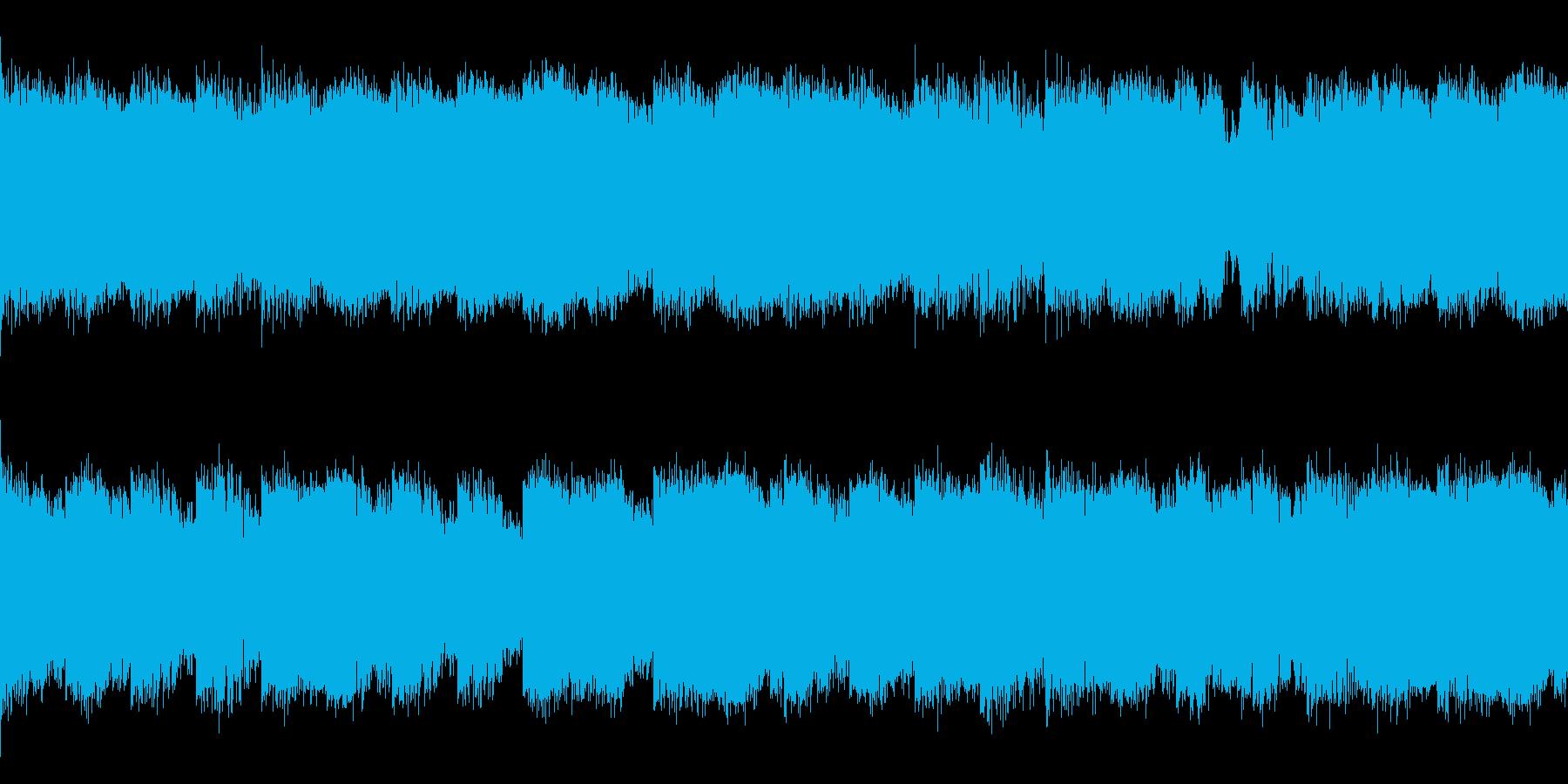 サイレントヒル風 ホラー ノイズ ループの再生済みの波形