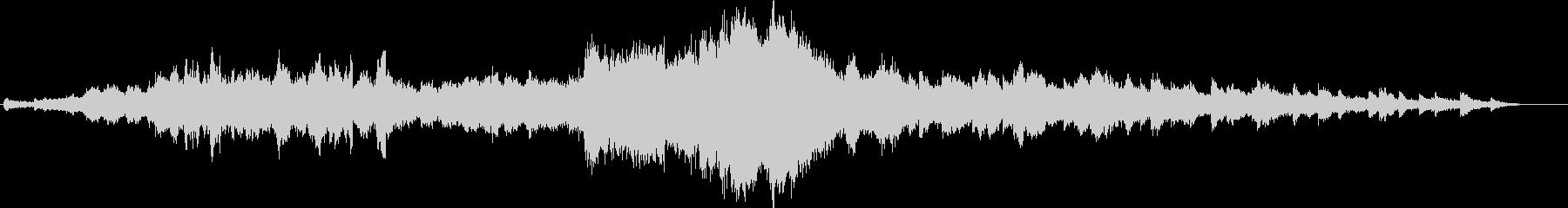 さらさら流れる清流をイメージした音楽の未再生の波形