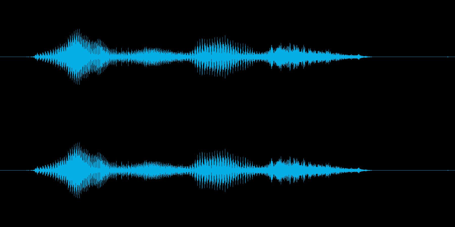 【時報・時間】4時ですの再生済みの波形