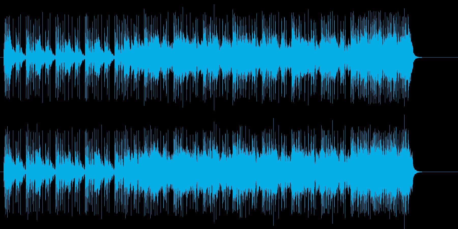 ブルーヴ感満点のファンキーロックサウンドの再生済みの波形