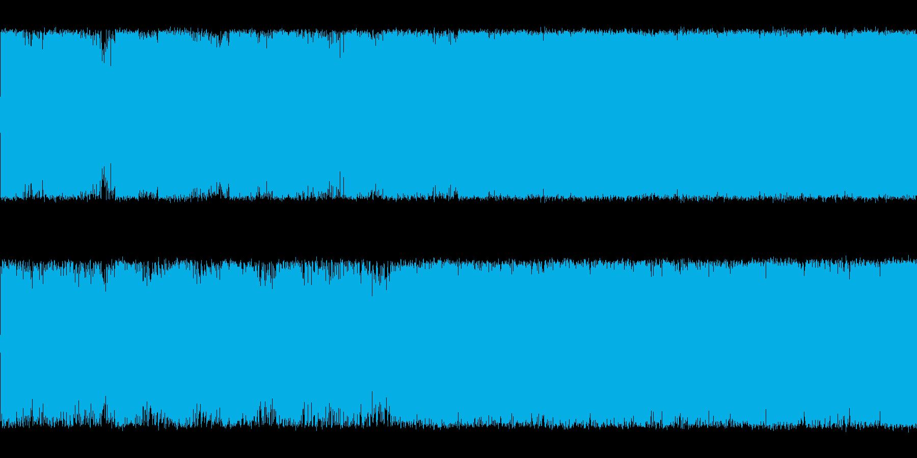緊迫感のあるギターメタルボス系の曲<短…の再生済みの波形