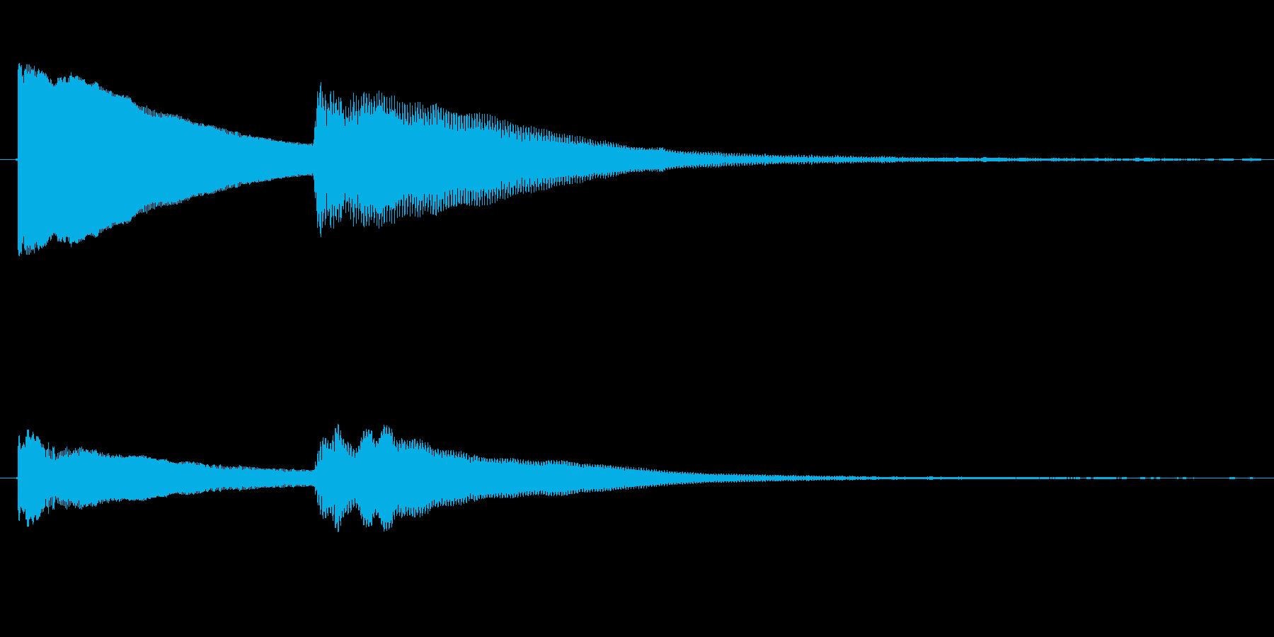 ハテナ?の再生済みの波形