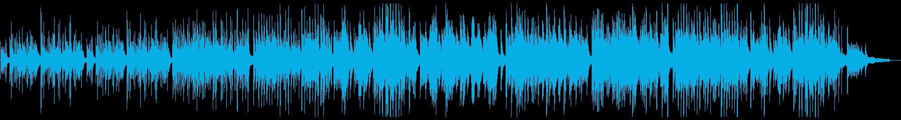 優しく美しいピアノポップスの再生済みの波形