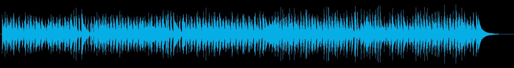 ほのぼの可愛いキッズ向けポップスの再生済みの波形