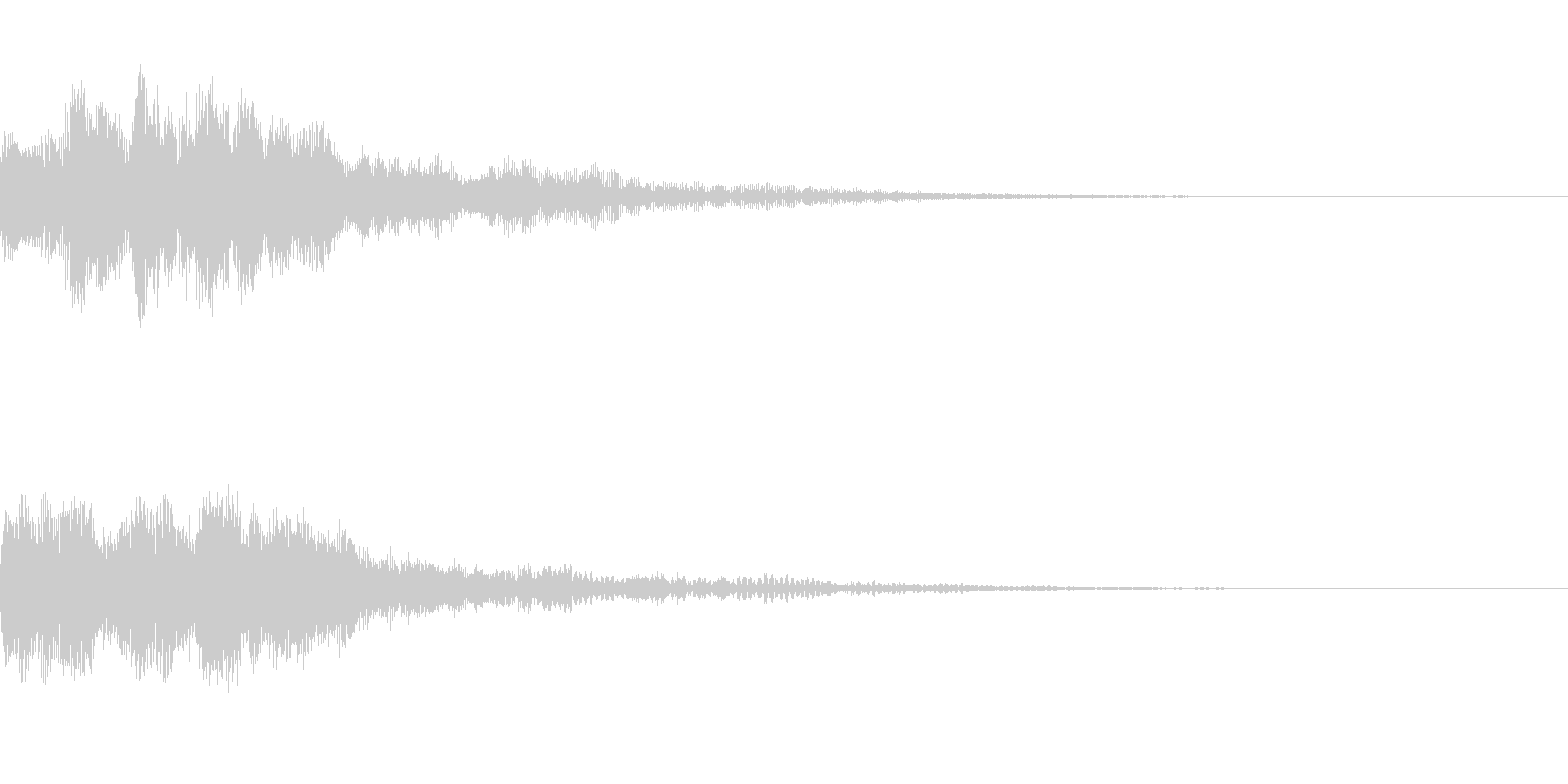 ミステリー系導入音_その5の未再生の波形