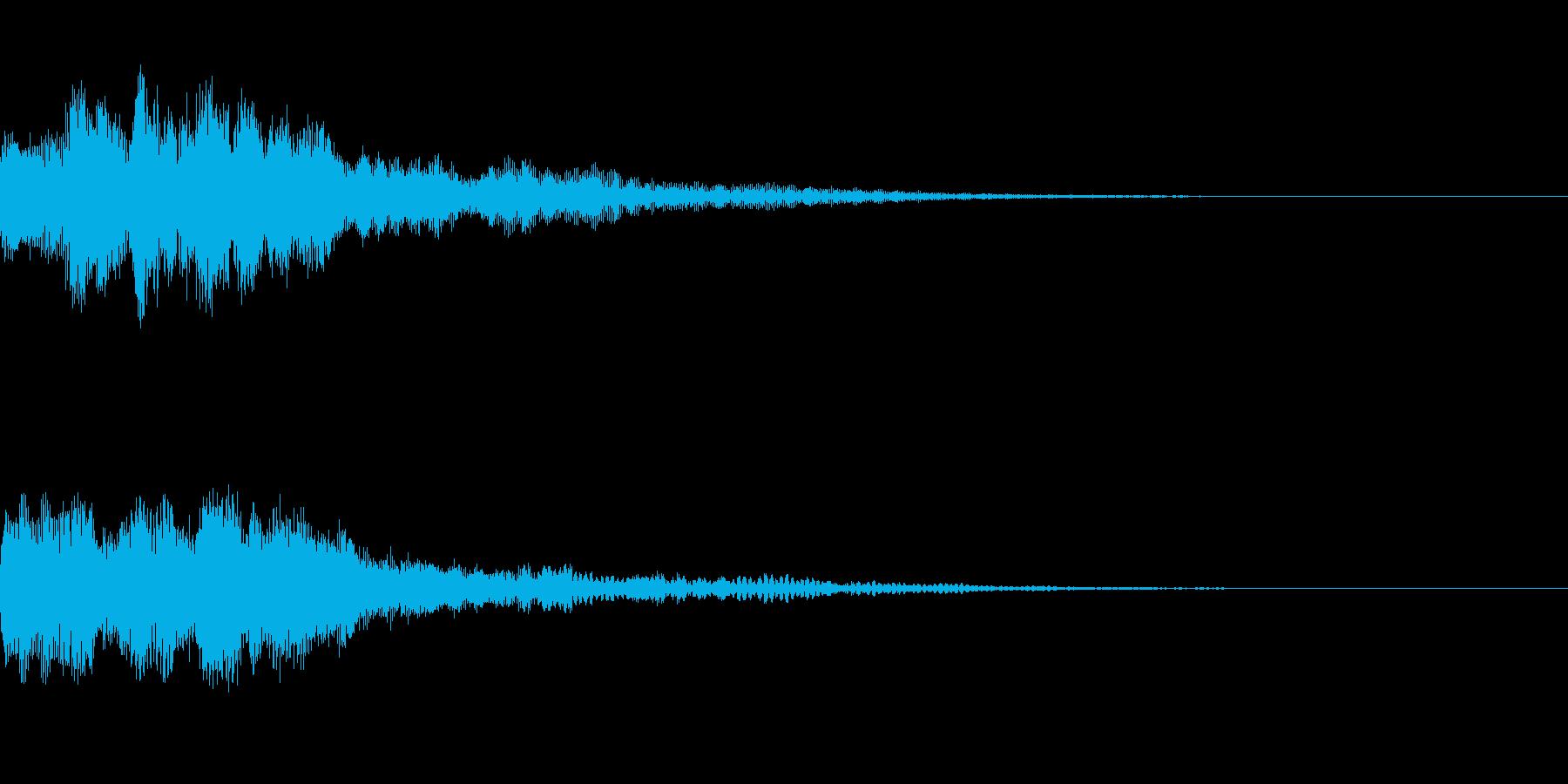 ミステリー系導入音_その5の再生済みの波形