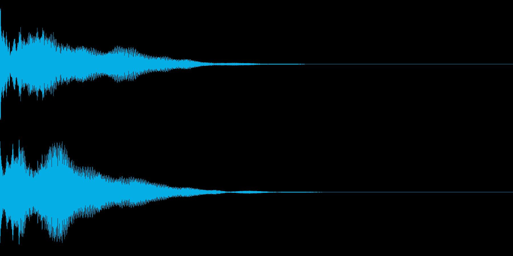 ピポリーンの再生済みの波形