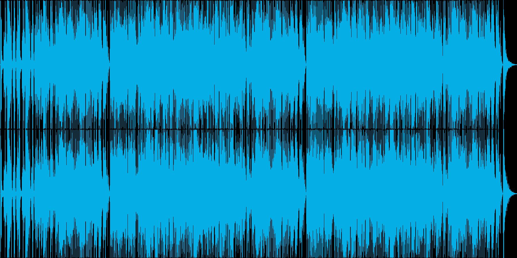爽やかでおしゃれなJazz Track!の再生済みの波形