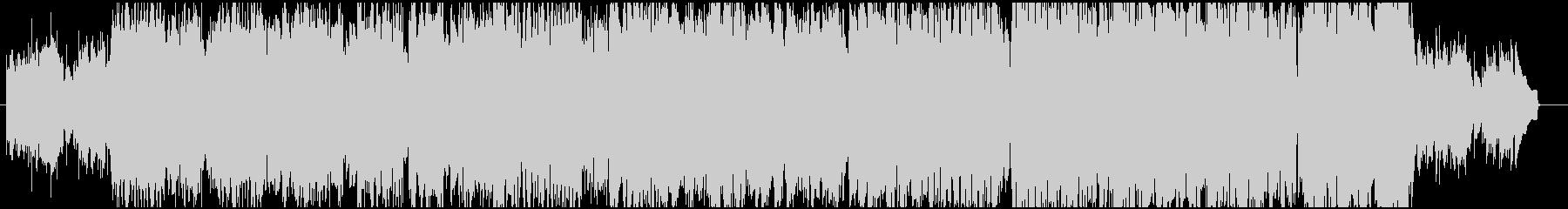 フォークギターのフィンガーピッキング曲の未再生の波形