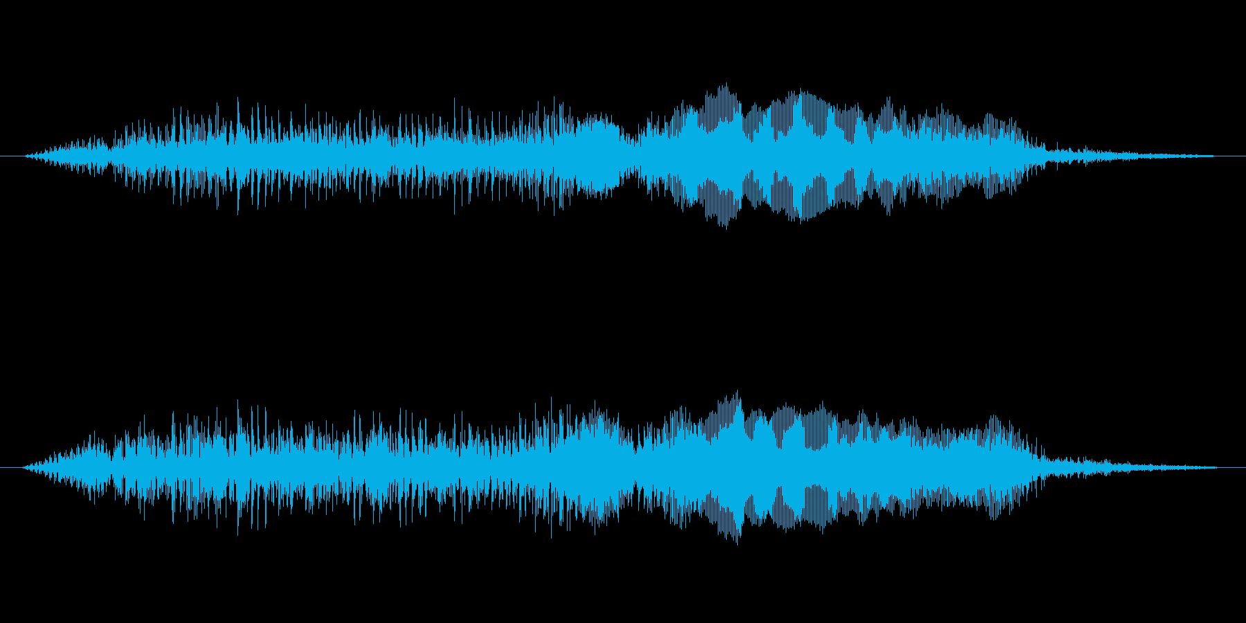 ウエーンの再生済みの波形