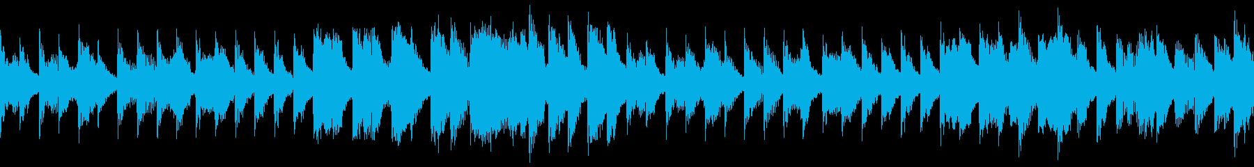 テキパキスタイルの再生済みの波形