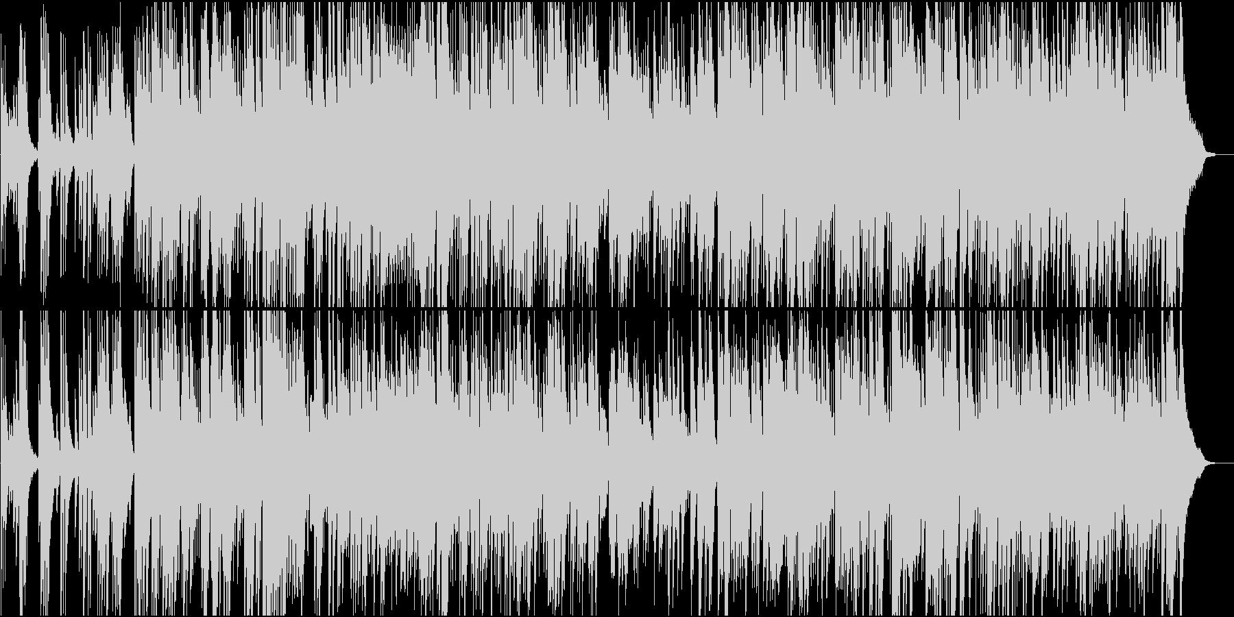アコギが気持ちいボサノバ系バラードの未再生の波形