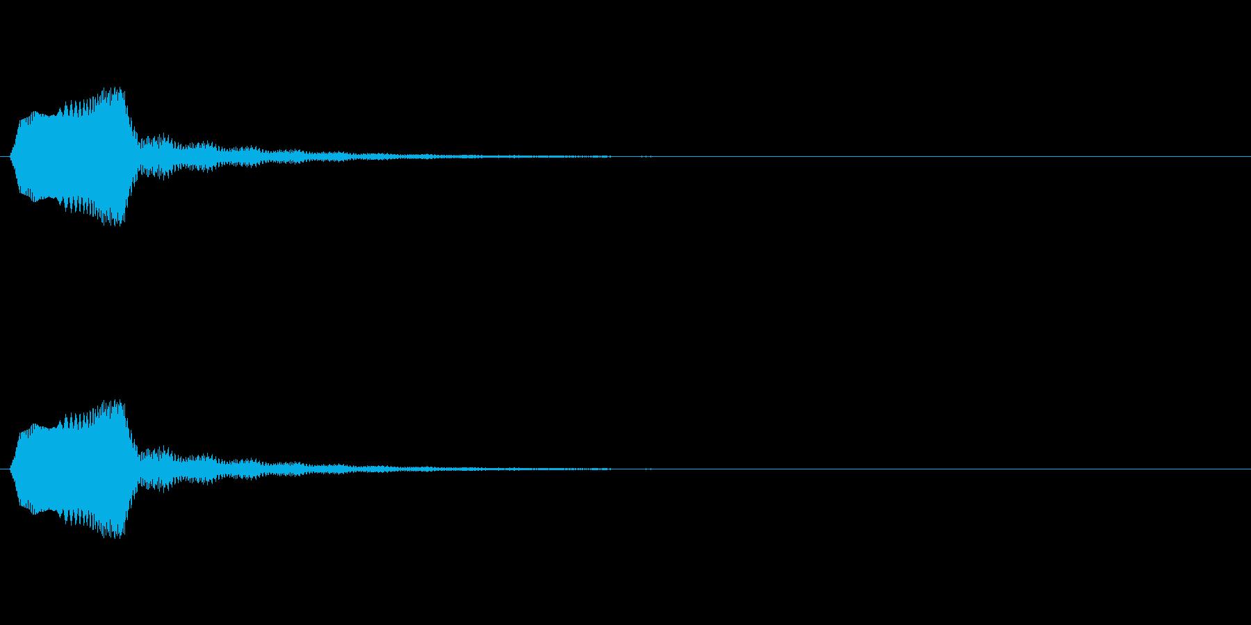 【ポップモーション05-1】の再生済みの波形