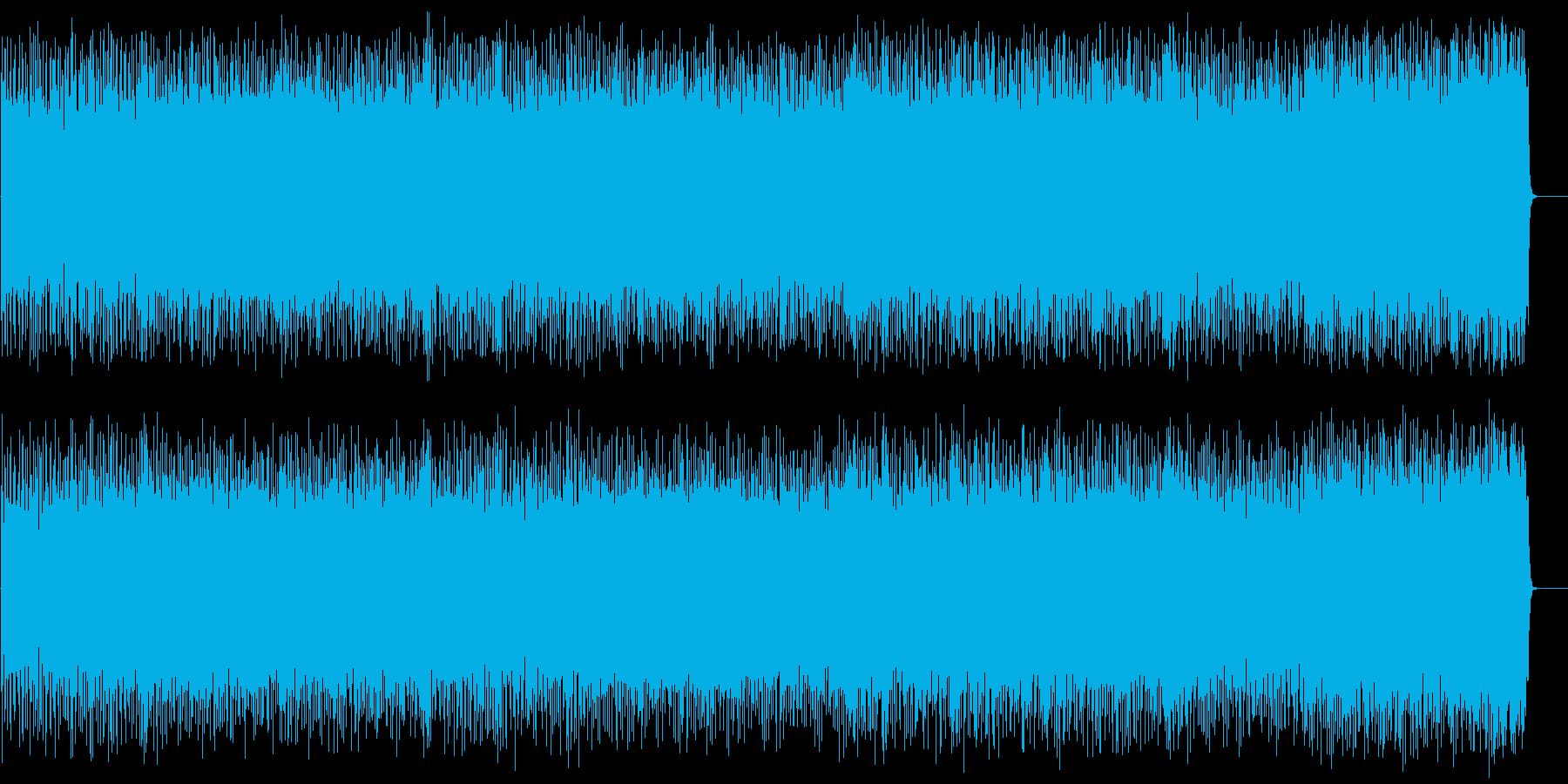 激しくスリリングなロック/ハードの再生済みの波形