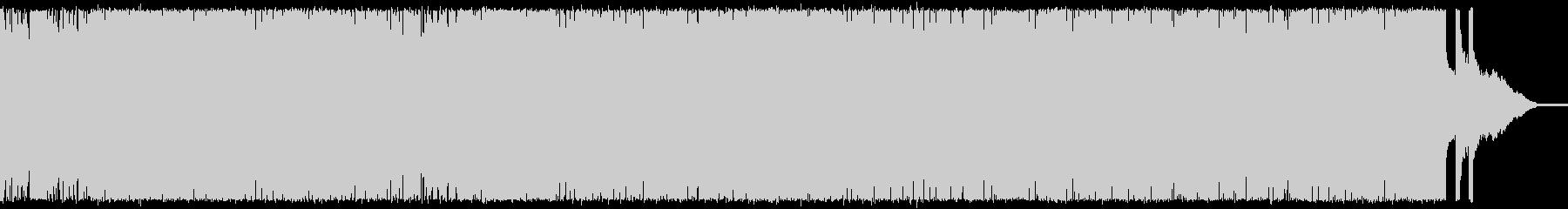 戦闘シーン向けメタル速弾きギターインストの未再生の波形