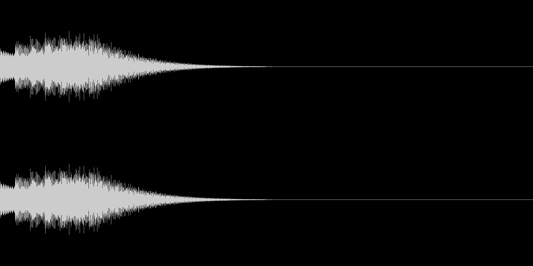 キラリンフレーズ01の未再生の波形