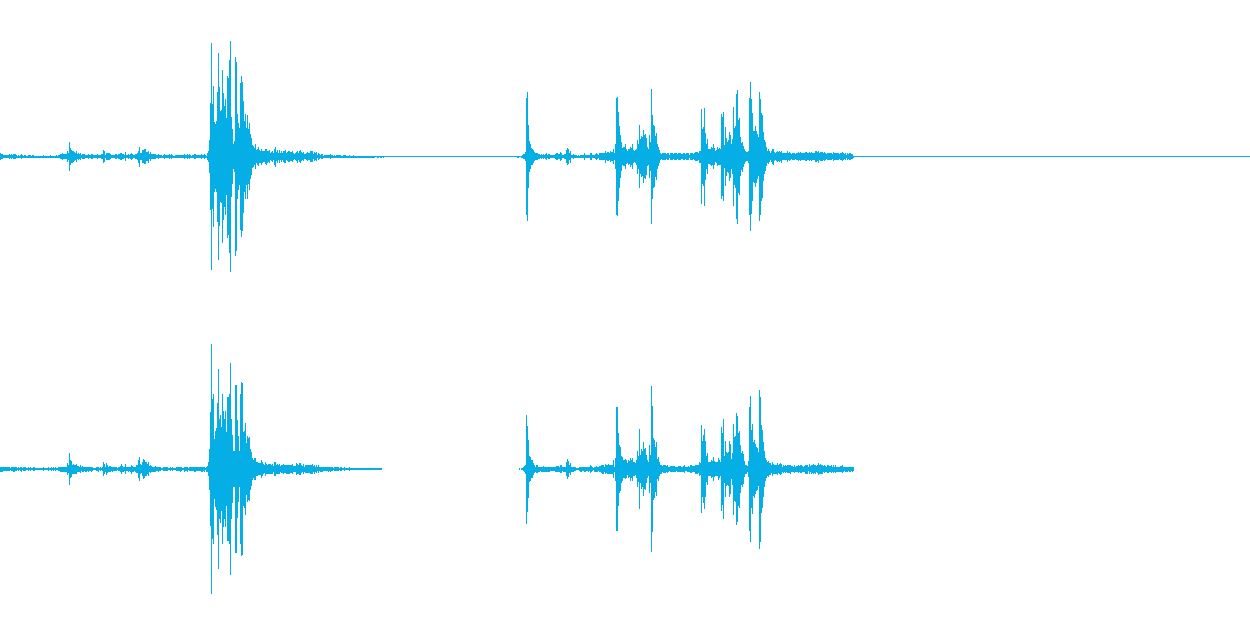 銃 リロード 2の再生済みの波形