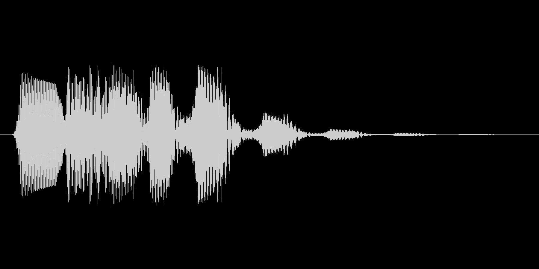 ファミコン風効果音 決定音系です 31の未再生の波形