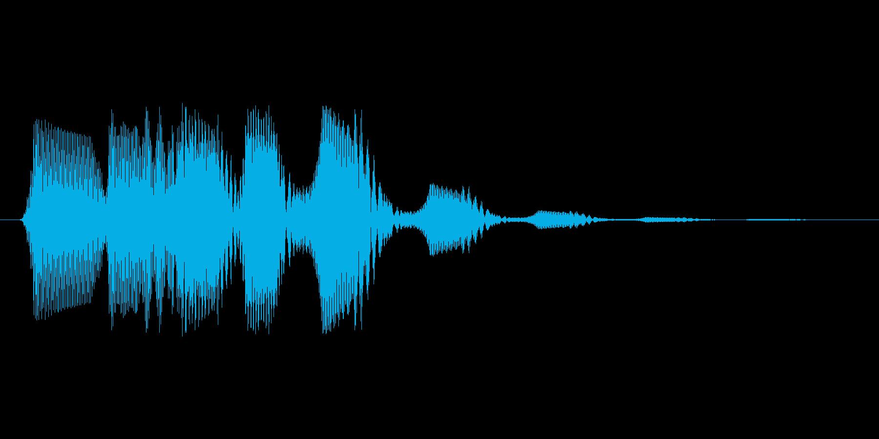 ファミコン風効果音 決定音系です 31の再生済みの波形