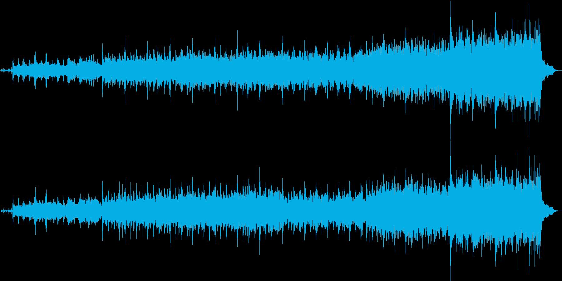 2分ちょうどのブラス行進曲です。の再生済みの波形