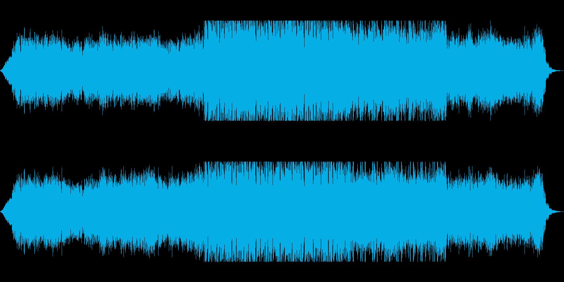 切ない雰囲気のギター曲の再生済みの波形