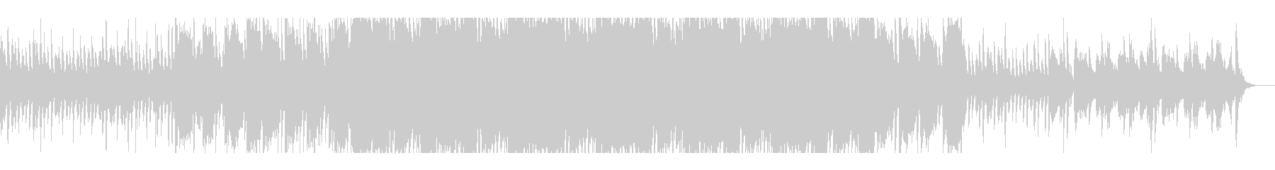 ワルツ調ホラーピアノ曲の未再生の波形