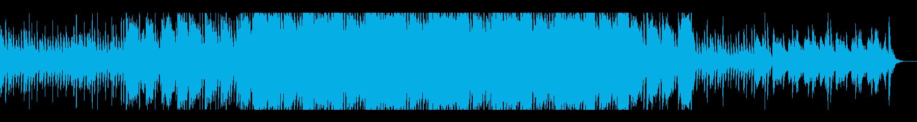 ワルツ調ホラーピアノ曲の再生済みの波形