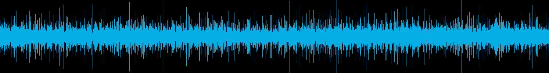 川のせせらぎの音です。余計な雑音は入っ…の再生済みの波形