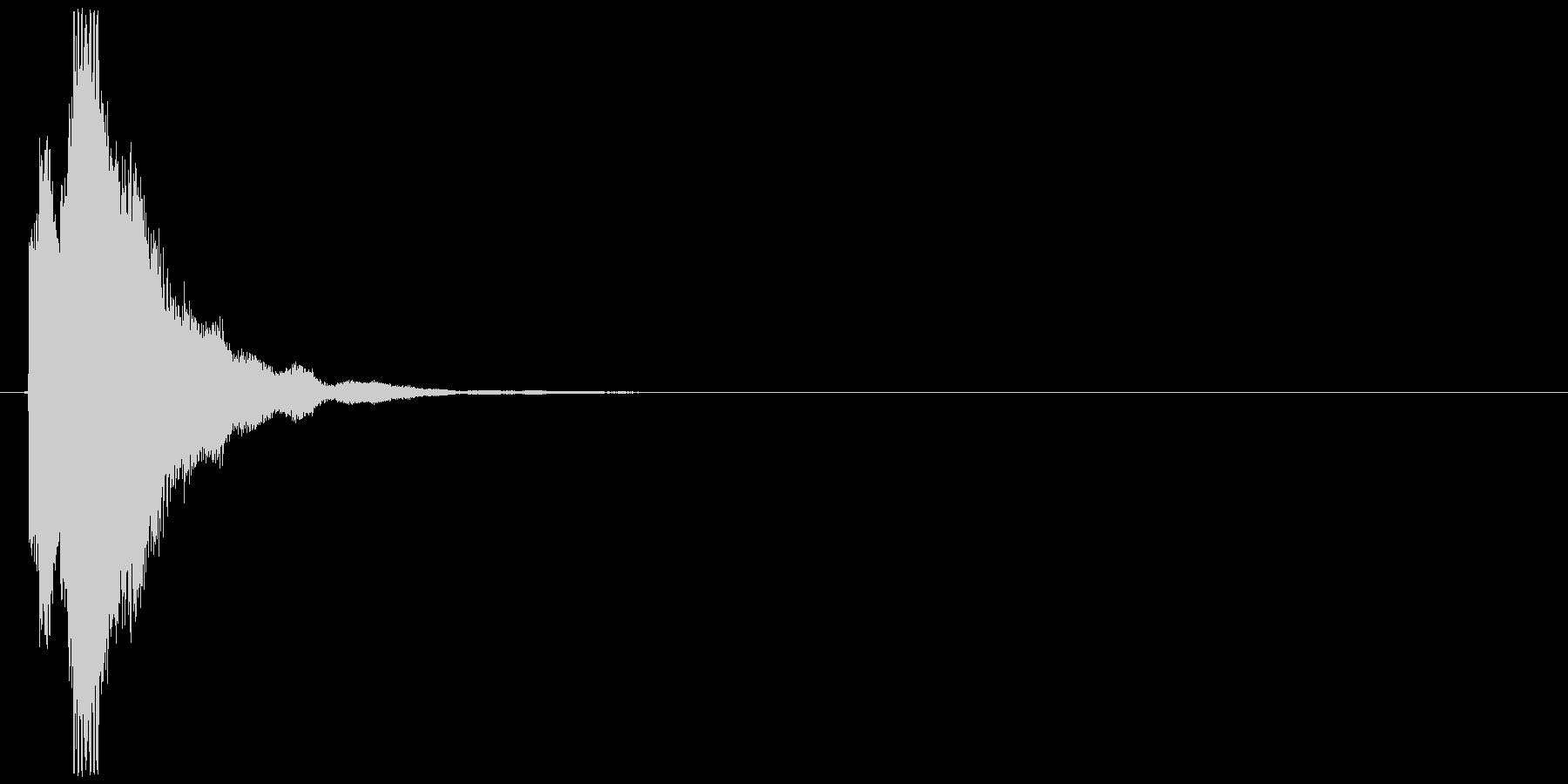 キラッ(コイン、お金、アイテムゲット)の未再生の波形