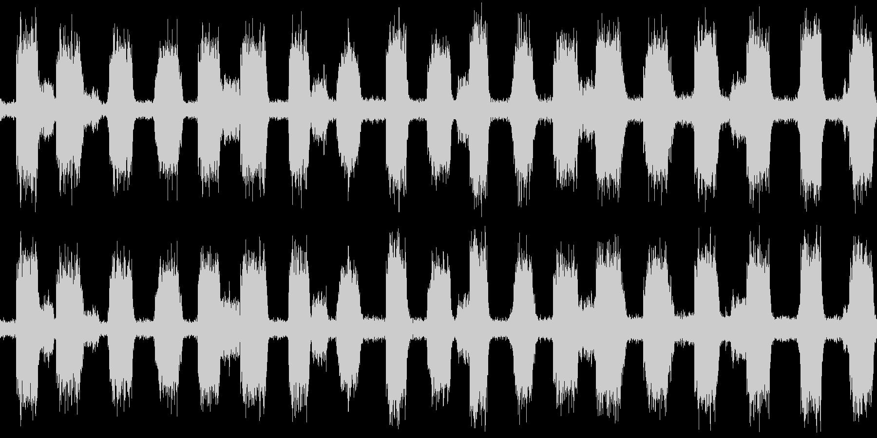 不気味な風イメージ(ループ可)の未再生の波形