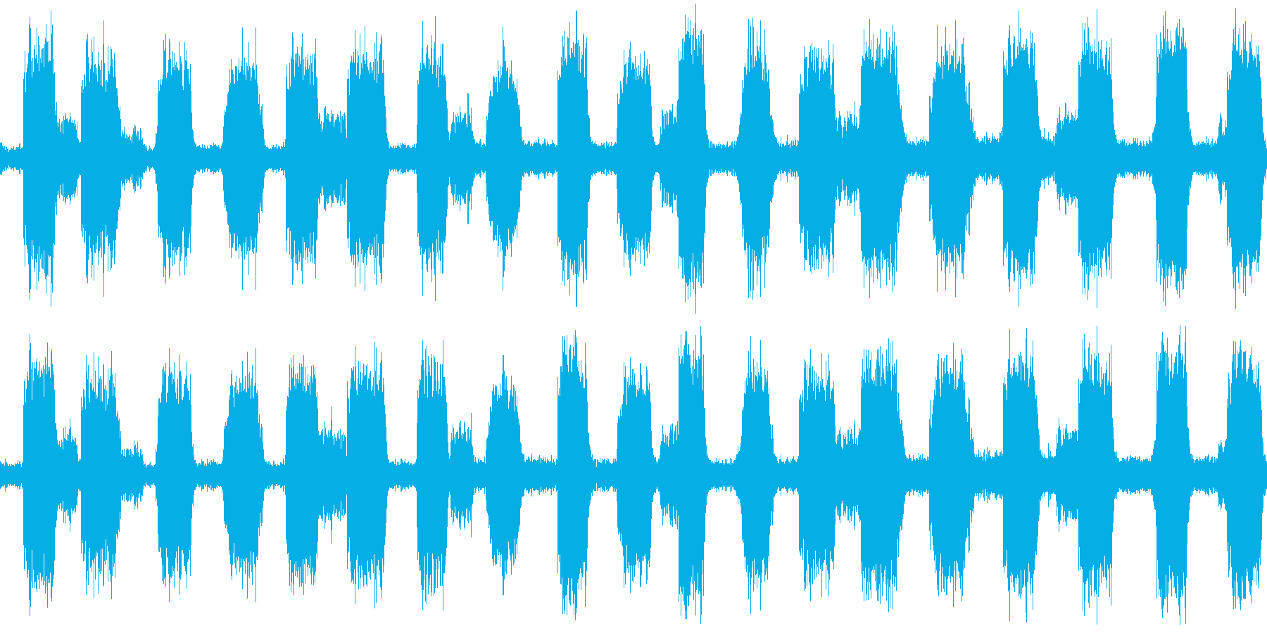 不気味な風イメージ(ループ可)の再生済みの波形