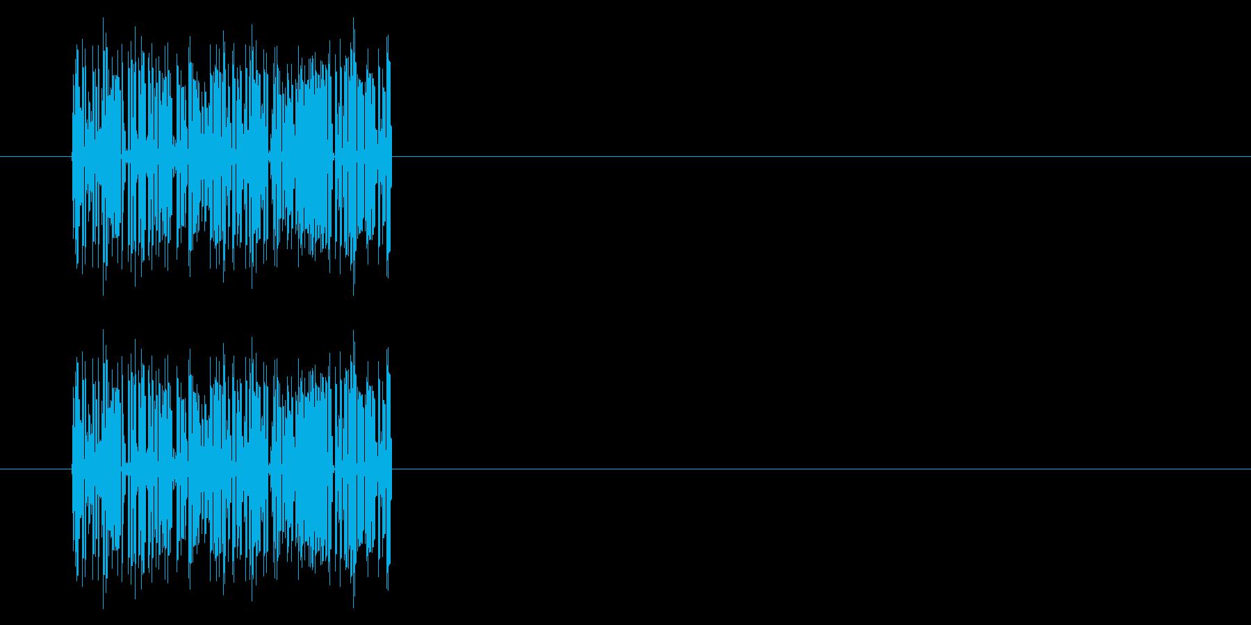 【NES RPG03-05(魔法 炎)】の再生済みの波形