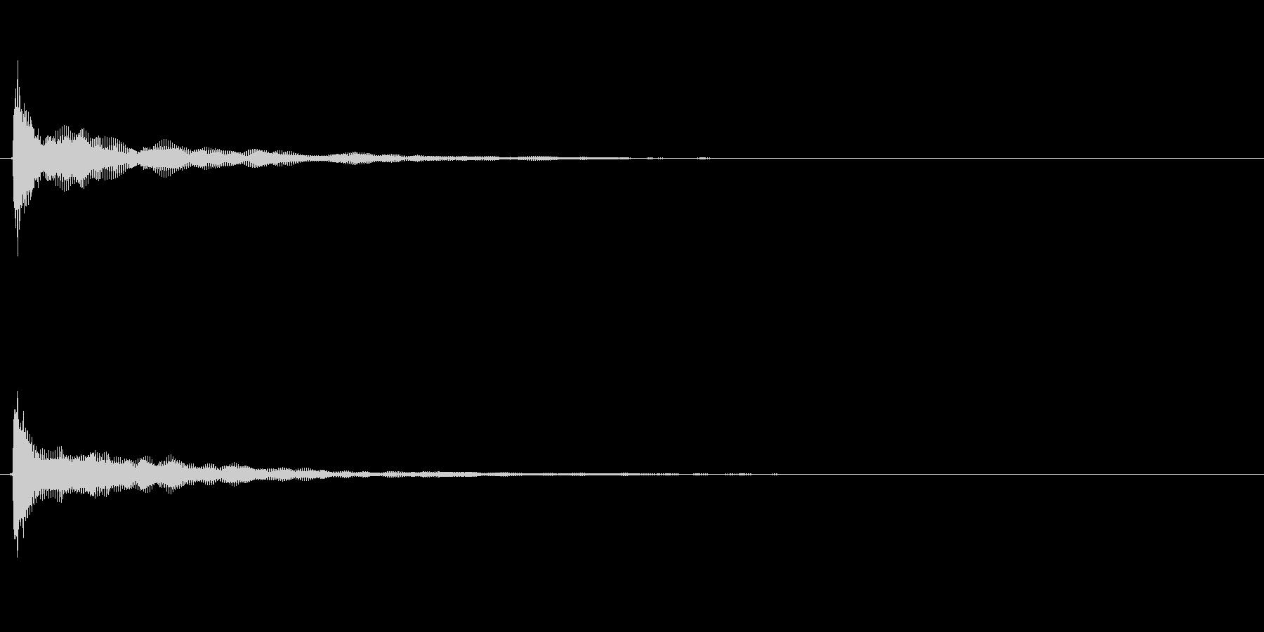 キラキラ系_090の未再生の波形