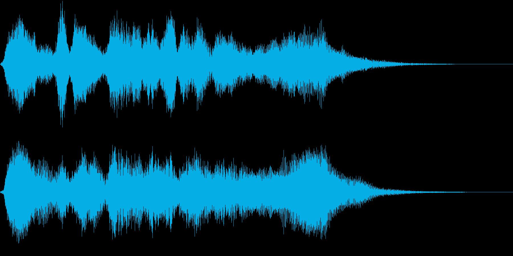 リアル弦楽四重奏のバロック調サウンドの再生済みの波形