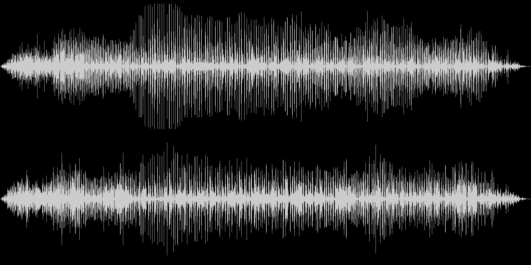 ブォンブロロ・・・(エンジン始動の様子)の未再生の波形