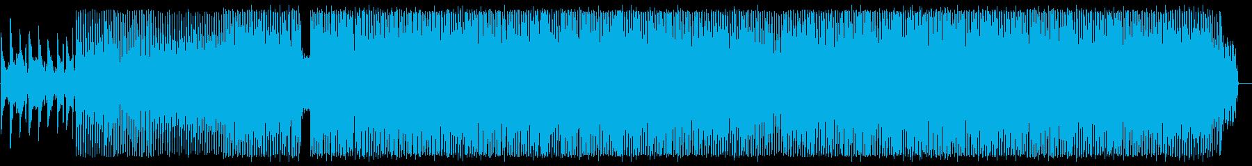 ピアノの旋律が美しいユーロ系テクノの再生済みの波形