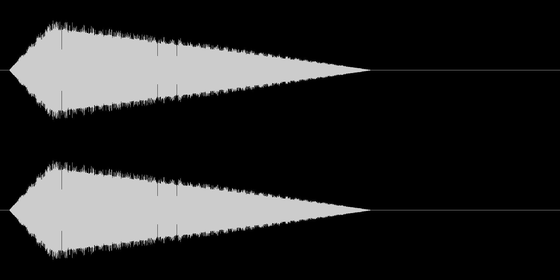 レトロゲーム風・魔法詠唱#7の未再生の波形