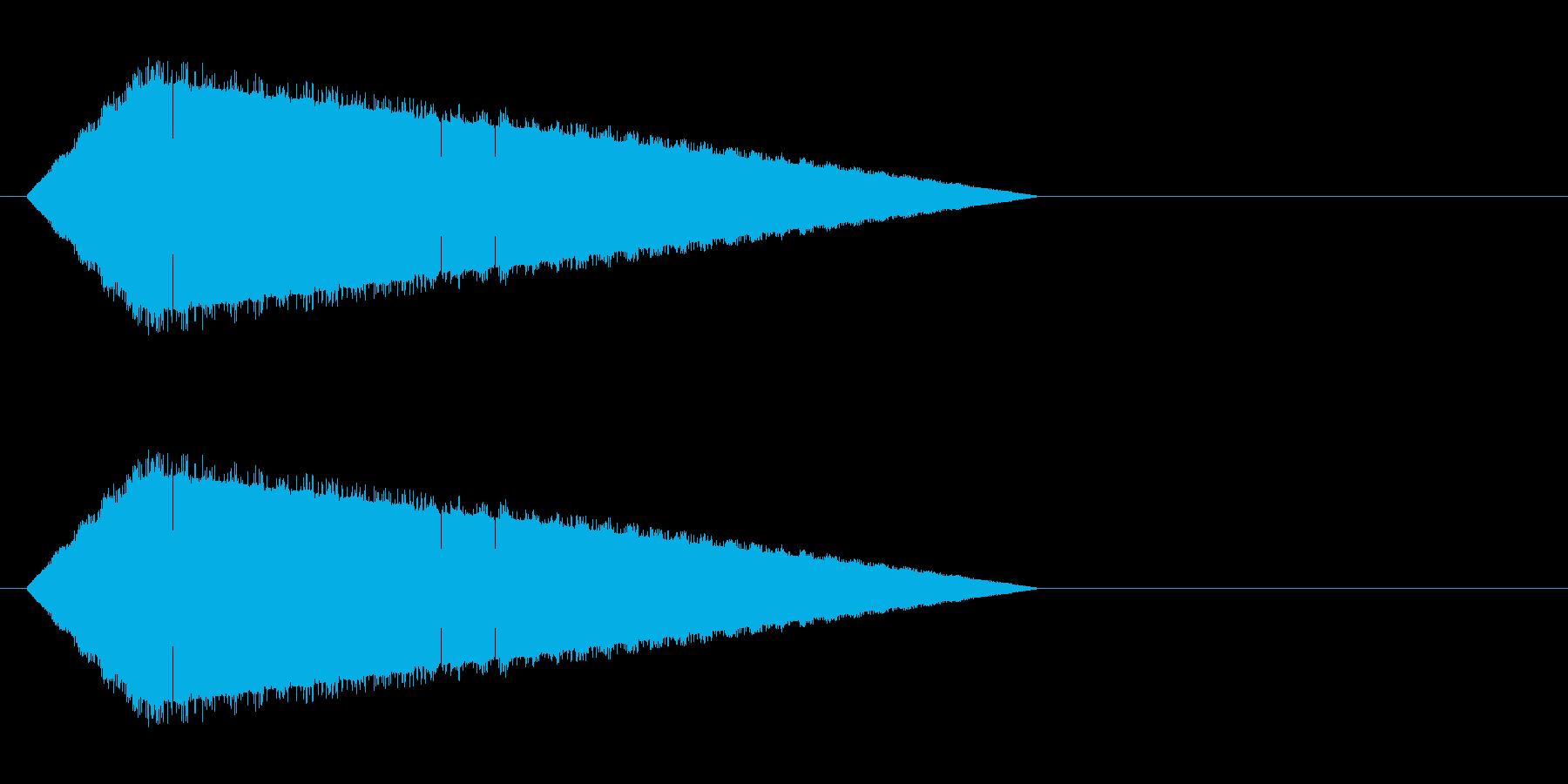 レトロゲーム風・魔法詠唱#7の再生済みの波形