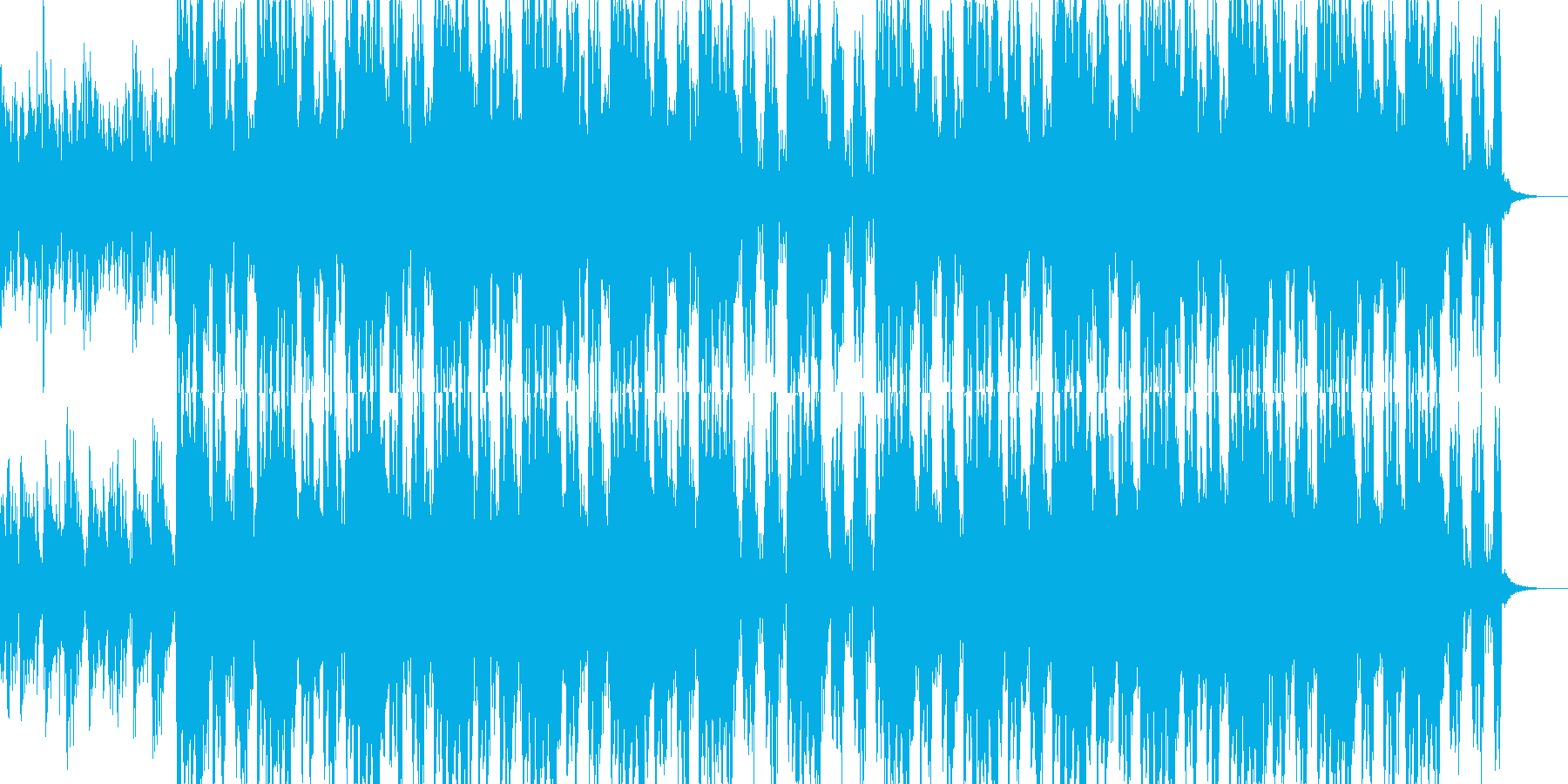 ニュース映像ナレーションバック向け-22の再生済みの波形